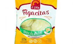 Figacitas sin TACC Il Sole - Alimentos sin gluten - Ultracongelados - Apto Celíacos
